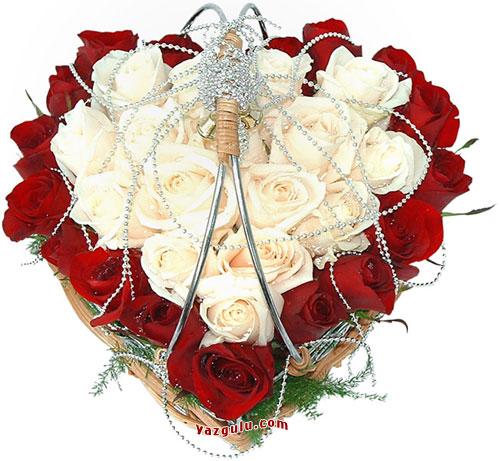 عکس سبد گل عروس